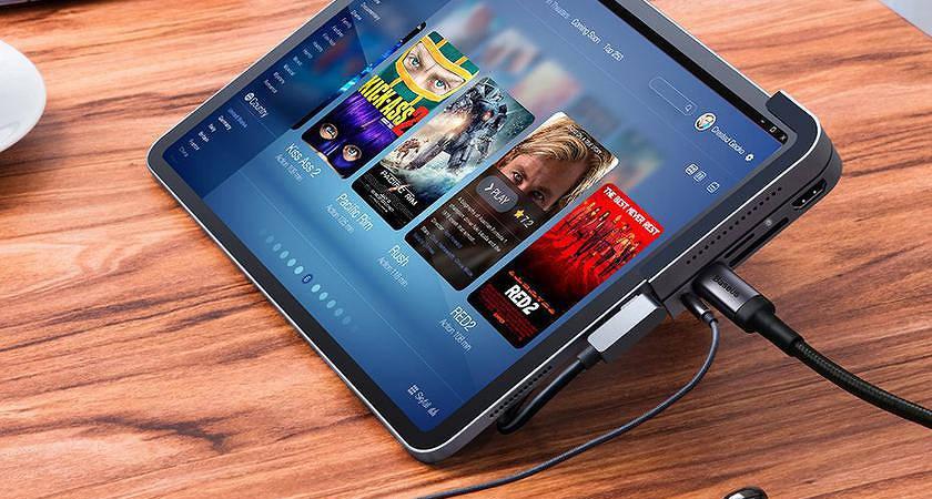 Baseus 6 in 1 Elbow – идеальный хаб для iPad Pro?
