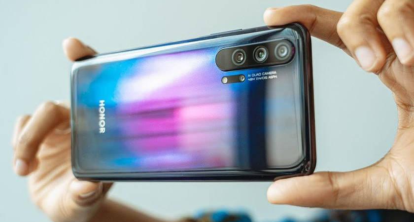 Honor 30 может получить датчик от Sony крупнее, чем у Samsung