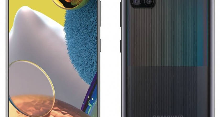 Galaxy A51 на рендере: новая камера и совершенно другой дизайн