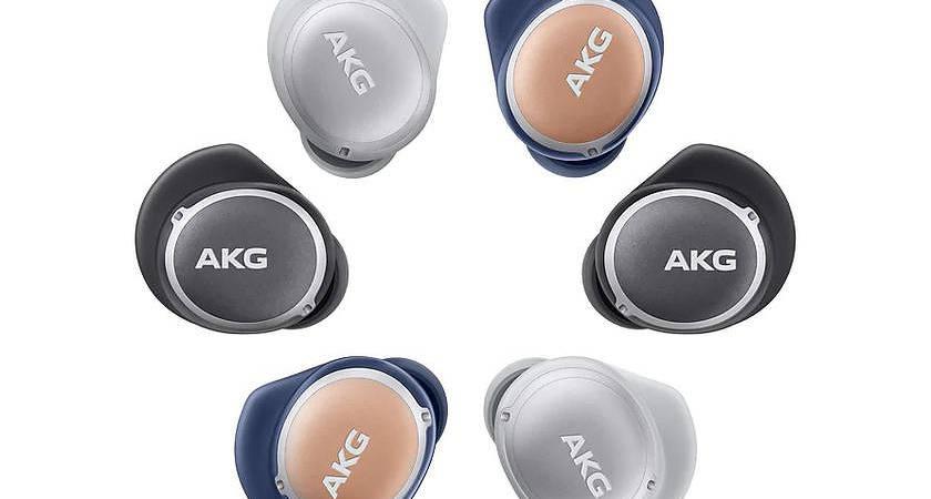 AKG N4000 – новые беспроводные наушники с защитой от воды