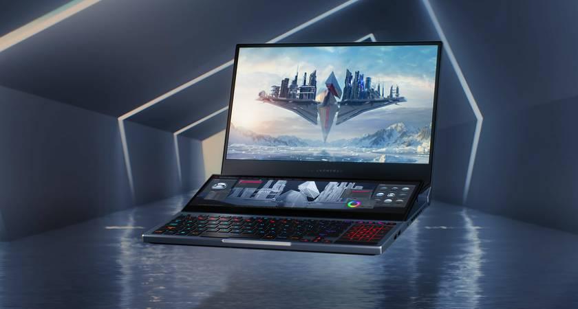 ASUS ROG Zephyrus Duo 15 – новый игровой ноутбук с двумя экранами и RTX 2080 SUPER