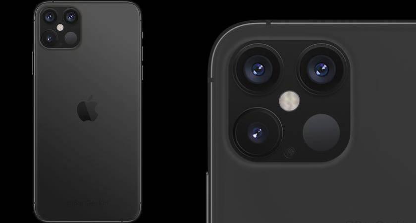 iPhone 12 Pro почему-то появился на рендене с тройной камерой