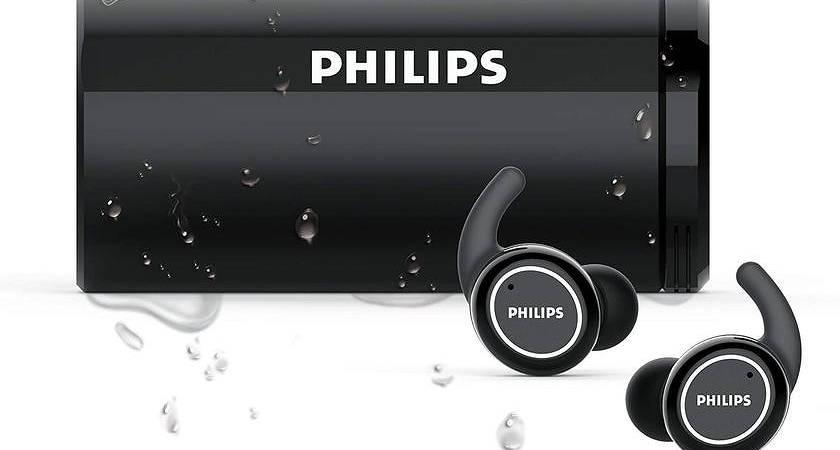 Philips ActionFit: новые наушники с дезинфекцией в футляре