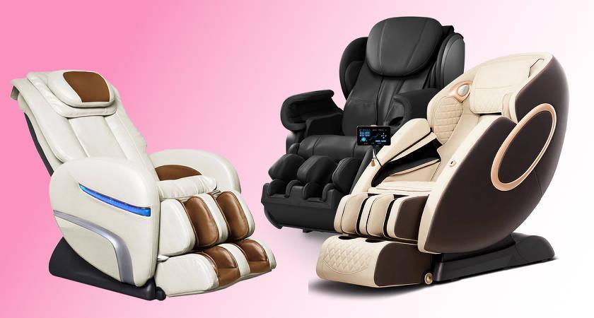 Лучшие массажные кресла