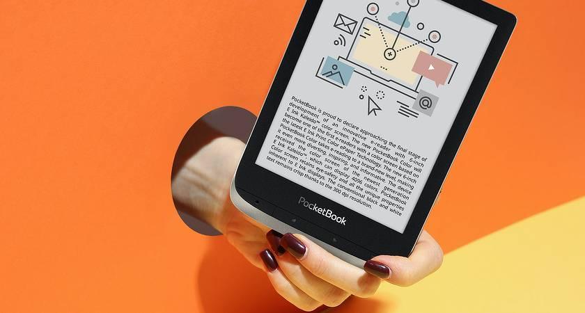PocketBook 633 Color – новый ридер с 6-дюймовым E Ink экраном