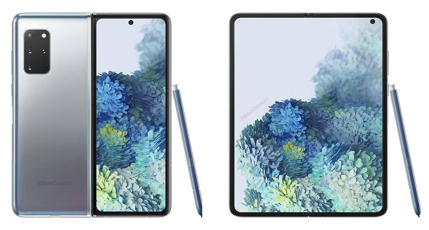 Samsung Galaxy Fold 2 – гибкий смартфон дебютирует вместе с Note 20