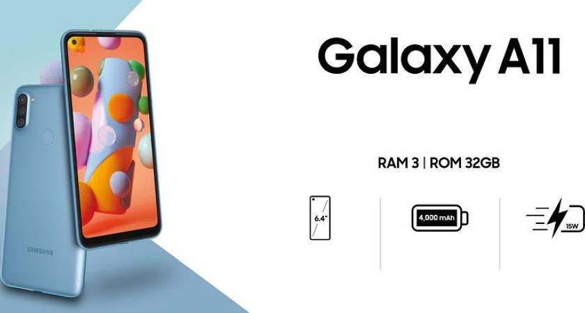 В Samsung называли цену нового бюджетного смартфона Galaxy A11
