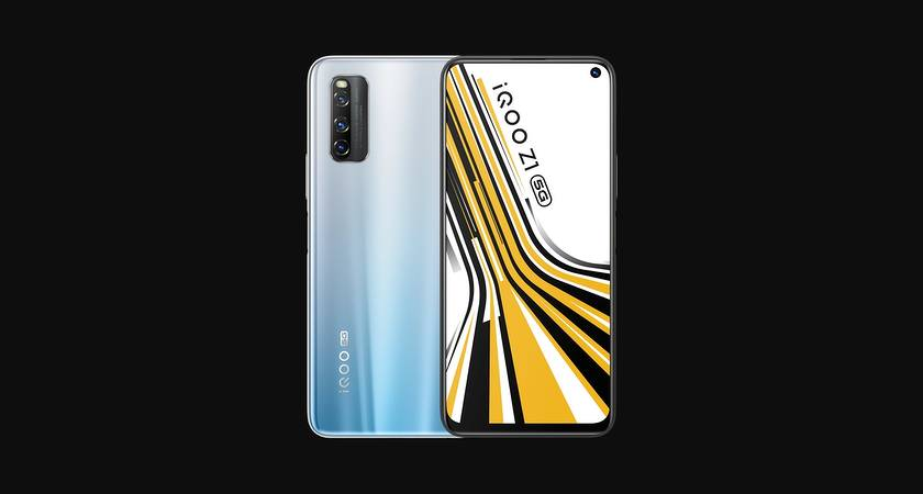 iQOO Z1 5G – первый смартфон с MediaTek Dimensity 1000+ от Vivo