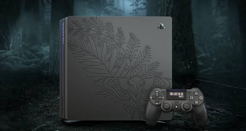 Компания Sony планирует выпустить эксклюзивную версию PlayStation 4 Pro в стиле The Last of Us 2