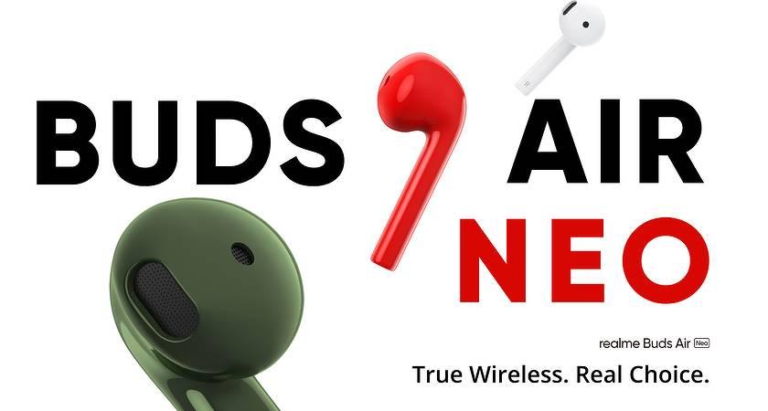 Realme Buds Air Neo – новые наушники с функцией Google Fast Pair