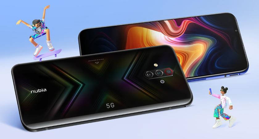 Новый смартфон Nubia Play получит процессор 765G и 144-Гц экран