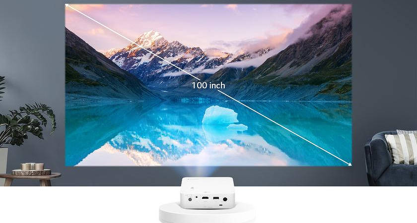 CineBeam PH30N – новый проектор от LG с автономией на 2 часа