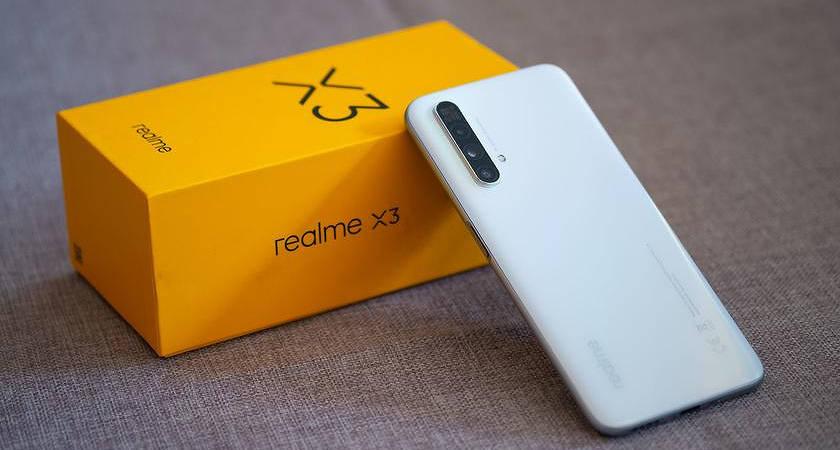 Дата выхода Realme X3 запланирована на 25 июня