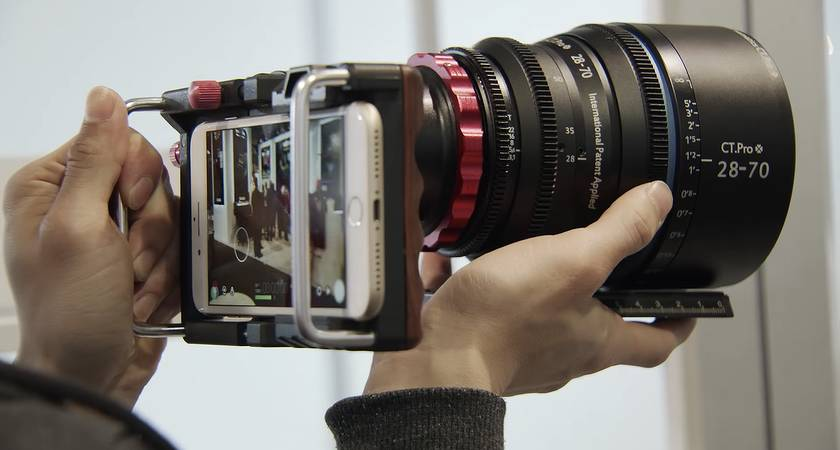 Компания Huawei занимается производством камерофона со сменной оптикой!?