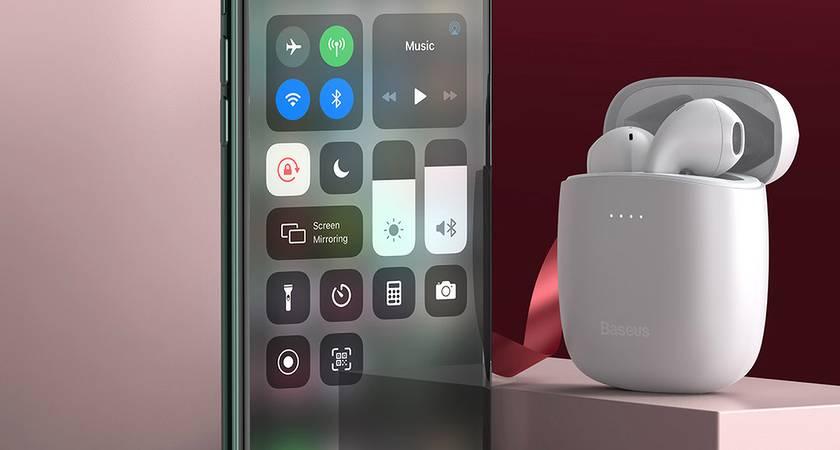 Baseus Encok W04 Pro – новые бюджетные TWS-наушники с дизайном как у Apple AirPods