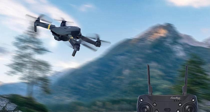 Вышел новый дрон Eachine E58: почти как DJI Mavic, но за 52 доллара
