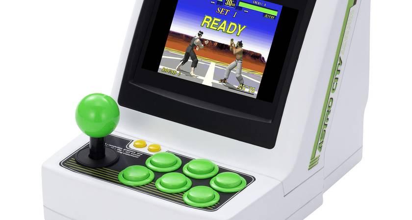 SEGA представили новую аркадную приставку с культовыми играми