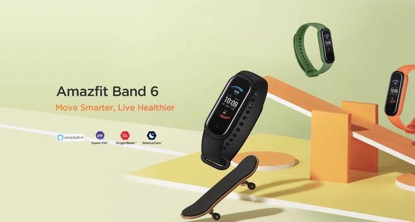 Amazfit Band 6: похож на Mi Smart Band 5, но с отличным функционалом