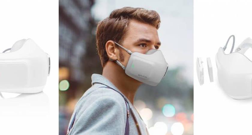 LG представили электронную маску PuriCare Wearable Air Purifier
