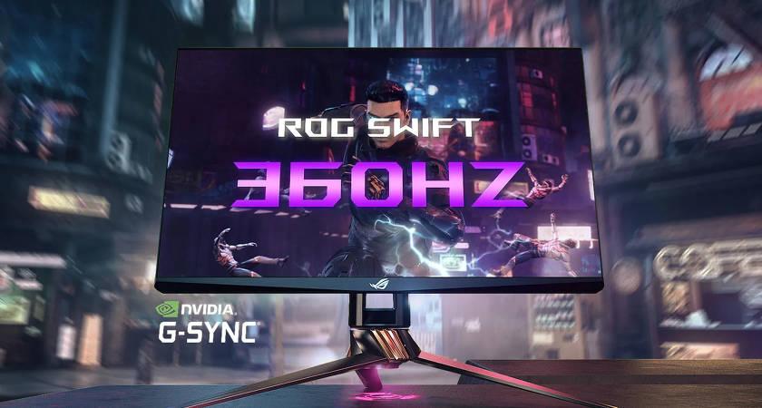 ASUS ROG Swift 360Hz – самый быстрый игровой монитор? Скоро в продаже!