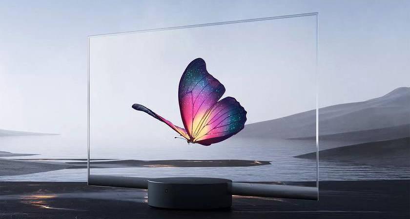 Xiaomi собирается выпустить монитор с прозрачным OLED-дисплеем