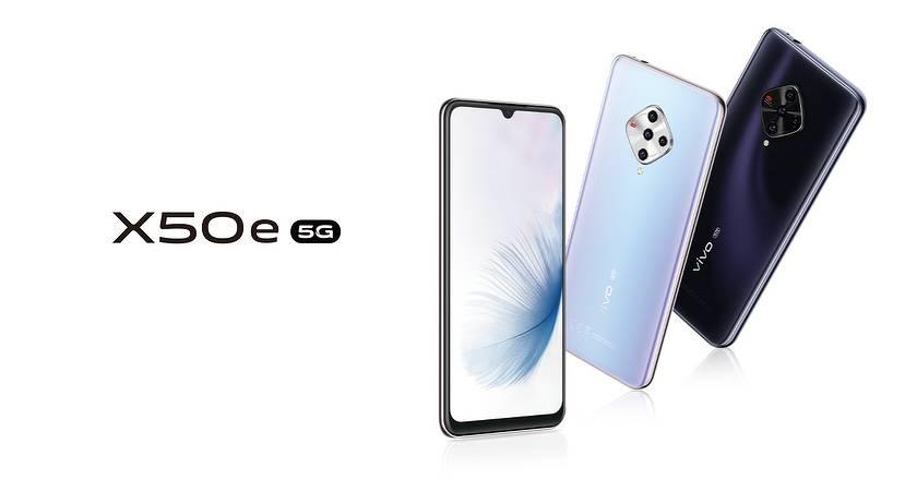 Vivo X50e – новый среднебюджетный смартфон на Snapdragon 765G
