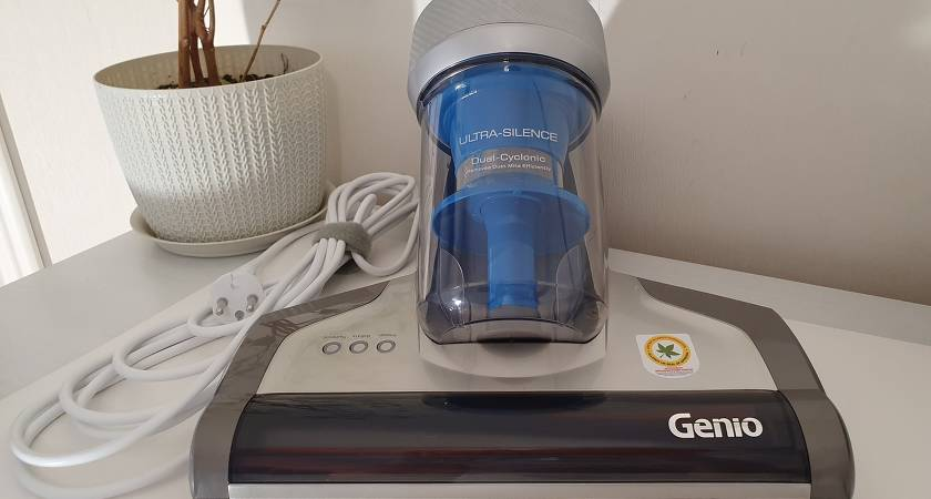 Обзор пылесоса для матрасов Genio MITE L10