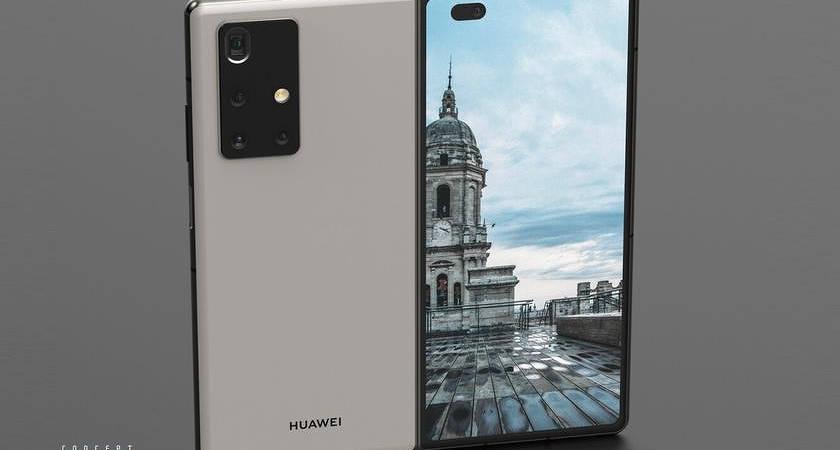 Рендеры Huawei Mate X2 5G: почти как Z Fold 2, но не совсем…