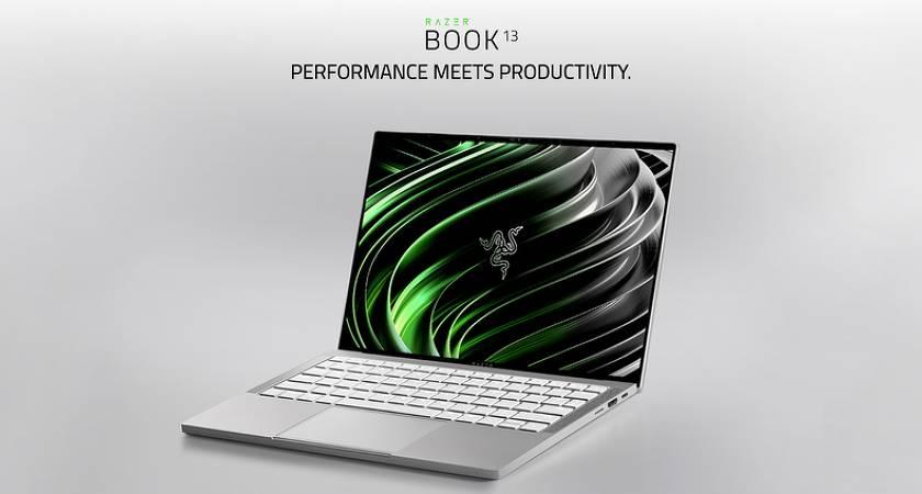 Razer Book 13 – компактный ноутбук с чипом 11-го поколения