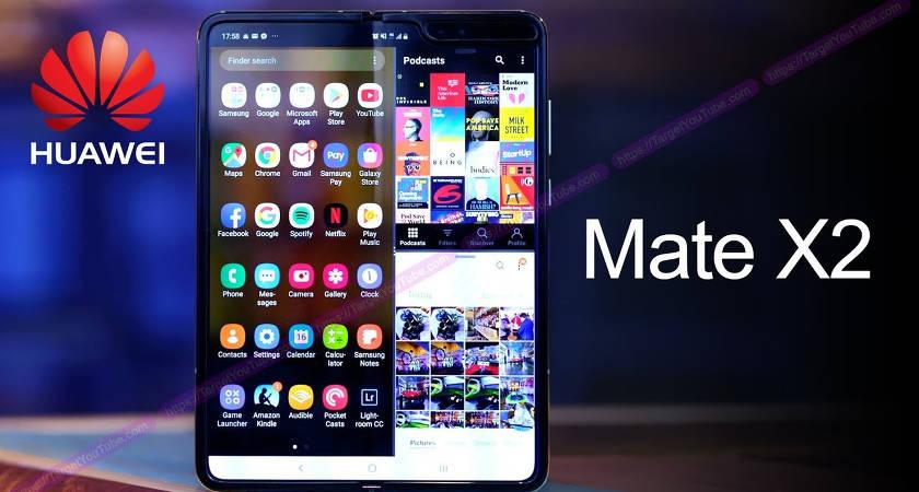 Huawei Mate X2 обнаружили в TENAA на Kirin 9000