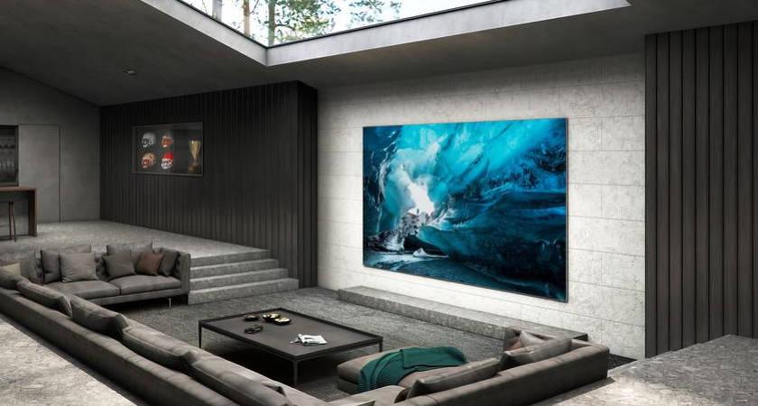 Samsung MicroLED TV – новый смарт-телевизор с гигантским монитором