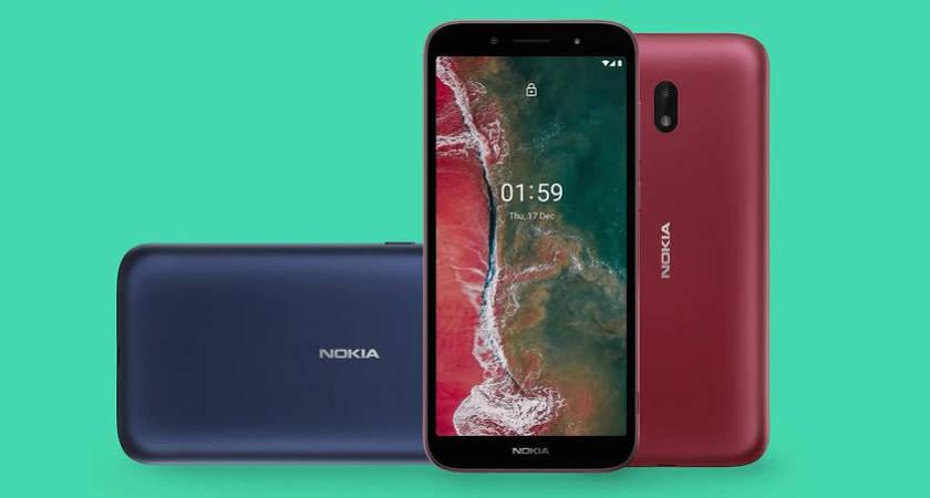 Nokia C1 Plus – новый ультрабюджетный смартфон на Android Go