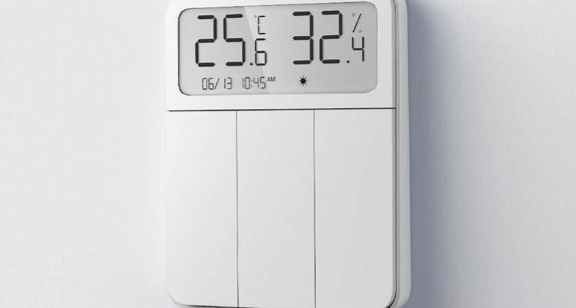 В Xiaomi анонсировали умный термостат MiJia