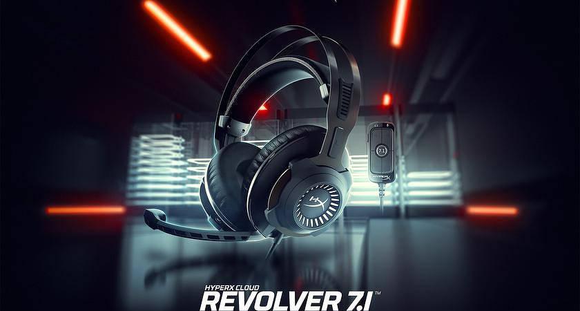 HyperX Cloud Revolver 7.1 – новые игровые наушники с объемным звуком и высоким ценником