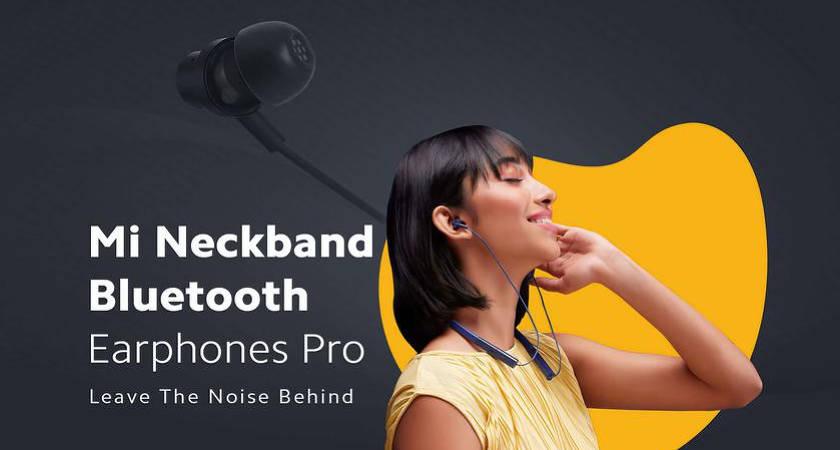 Xiaomi Mi Neckband – новые наушники с поддержкой ANC