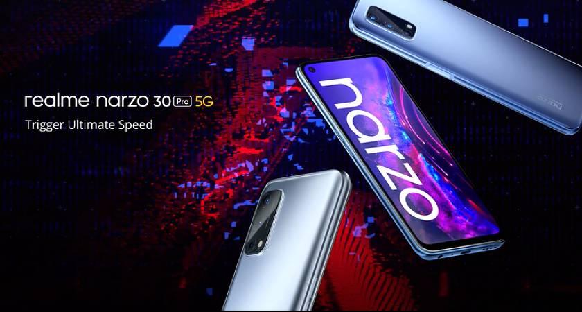 Realme Narzo 30 Pro 5G – новый смартфон на MediaTek Dimensity 800U