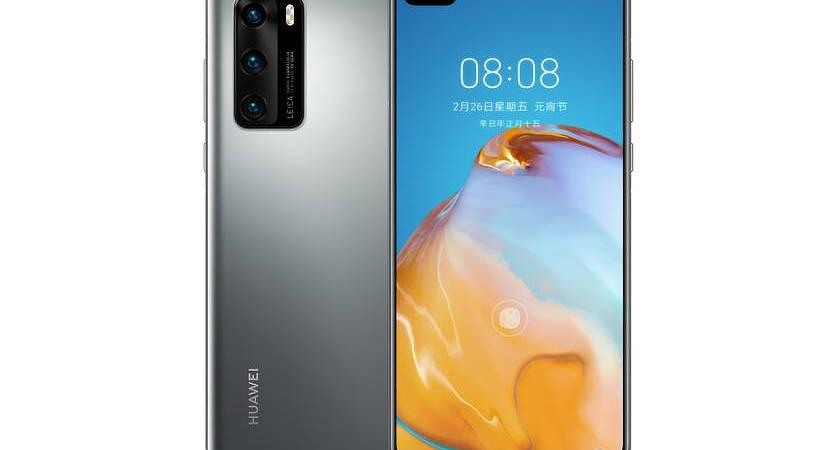 Huawei P40 4G – новый флагман на OLED-экране и чипе Kirin 990