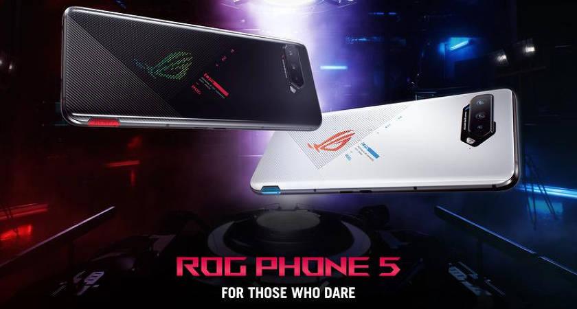 ASUS ROG Phone 5 -  игровой смартфон на чипе Snapdragon 888 с солидным ценником