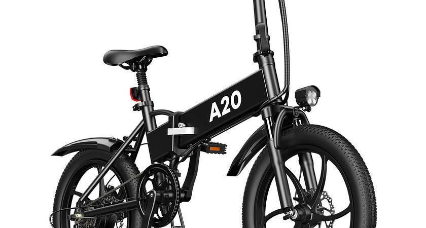 ADO A20 – новый складной электрический велосипед с хорошей автономностью