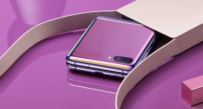 Galaxy Z Flip 3 представили во всей красе