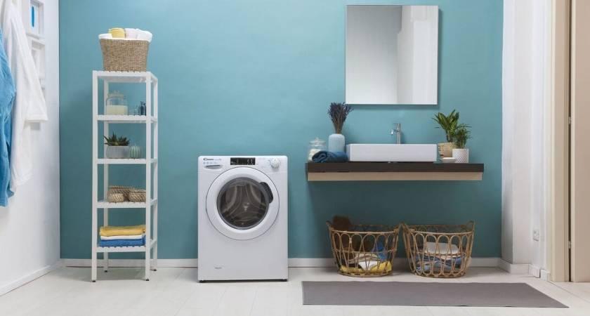 Поступила в продажу узкая стиральная машина с функцией сушки Candy Smart Pro