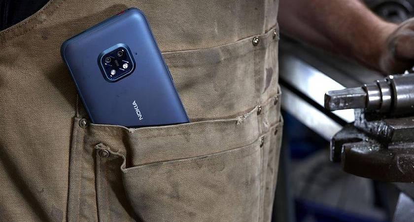 Nokia XR20 новый защищенный смартфон с хорошими параметрами