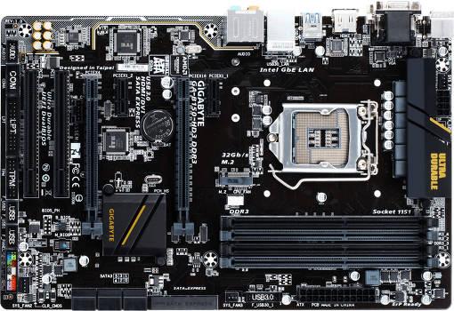 GIGABYTE GA-B150-HD3 DDR3 (rev. 1.0)
