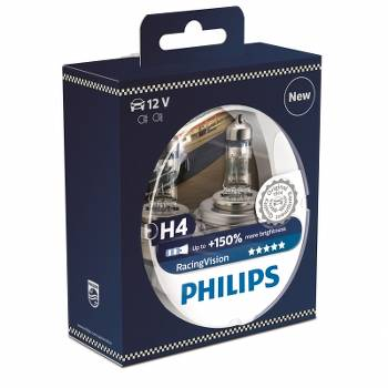 PHILIPS Racing Vision 150% H4 12V 60/55W