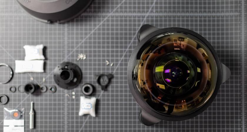 C-4 Optics — самый широкий в мире объектив от Lensrentals
