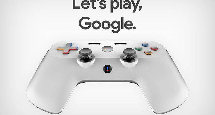 В Google работают над геймпадом с поддержкой голосового ассистента