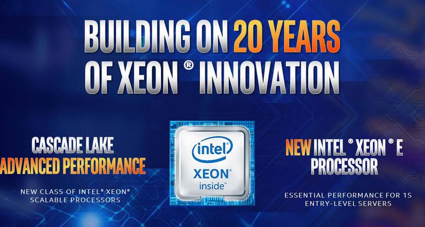 Компания Intel  готовится к презентации процессоров Cascade Lake