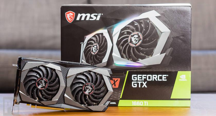 Новые видеокарты MSI GeForce GTX 1660 Ti — поступили в продажу