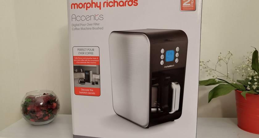 Обзор кофеварки Morphy Richards 162010