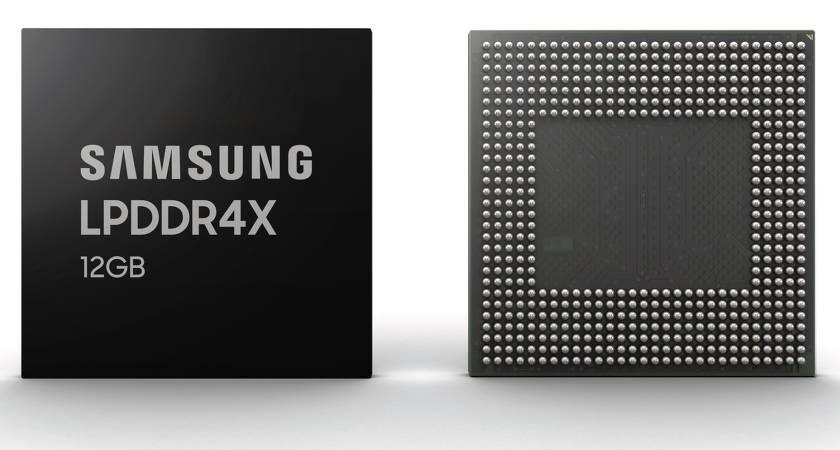 Новые флагманы будут с 12 ГБ ОЗУ: Samsung запускает в производство чипы LPDDR4X c 12 ГБ